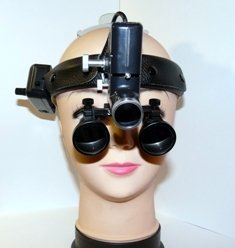 Бинокулярная лупа с подсветкой Optic x2,5-420HL-5