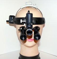 Бинокулярная лупа с подсветкой Optic x5,0-420HL-5