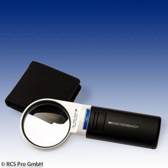 Лупа медицинская с подсветкой Eschenbach Mobilux LED - 4.0х, Ø 60 мм.