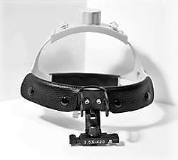Новая модель шлема для бинокуляров