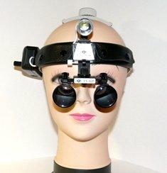Бинокулярная лупа с подсветкой Optic x3,5-420HL-3