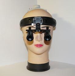 Бинокулярная лупа хирургическая на шлеме Magnifier QC Optic x4,0-420H